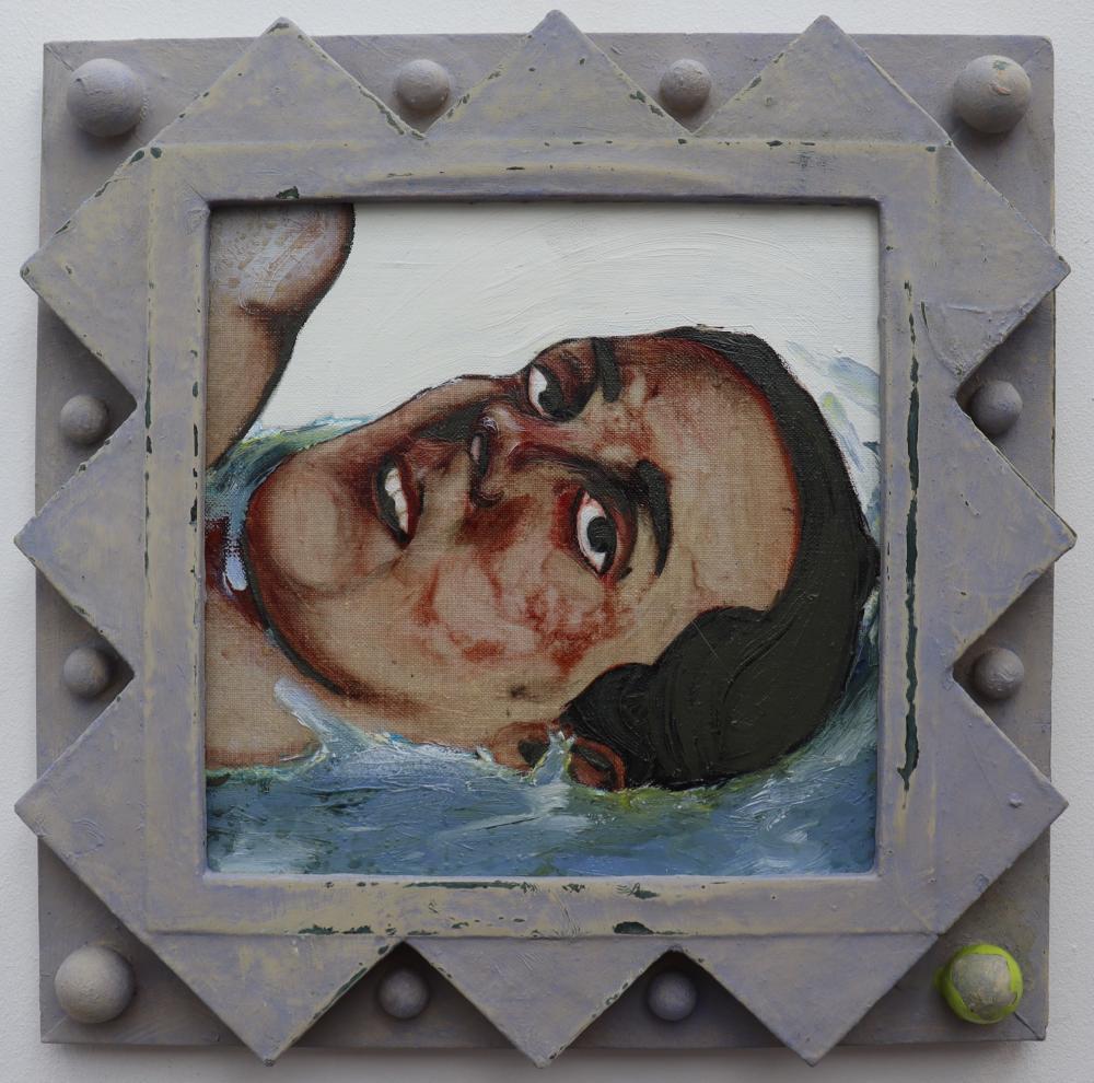 Salvatore of Lucan - Myles Manley in water
