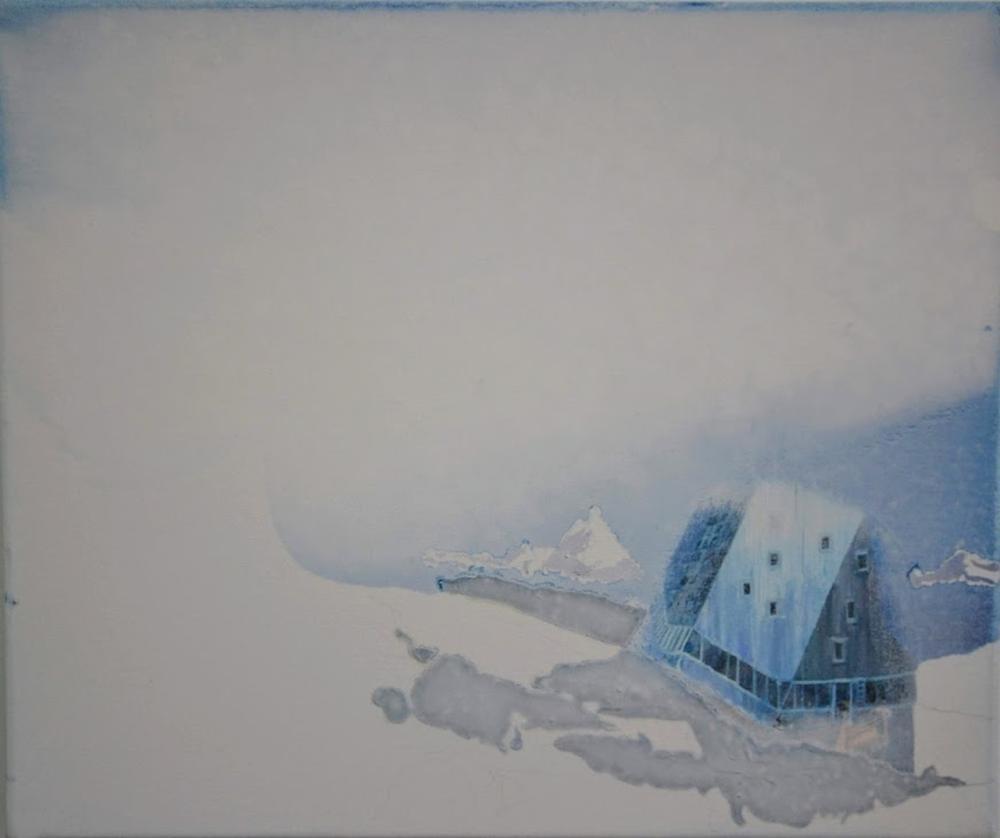 Louise Butler - Monte Rosa, snow time