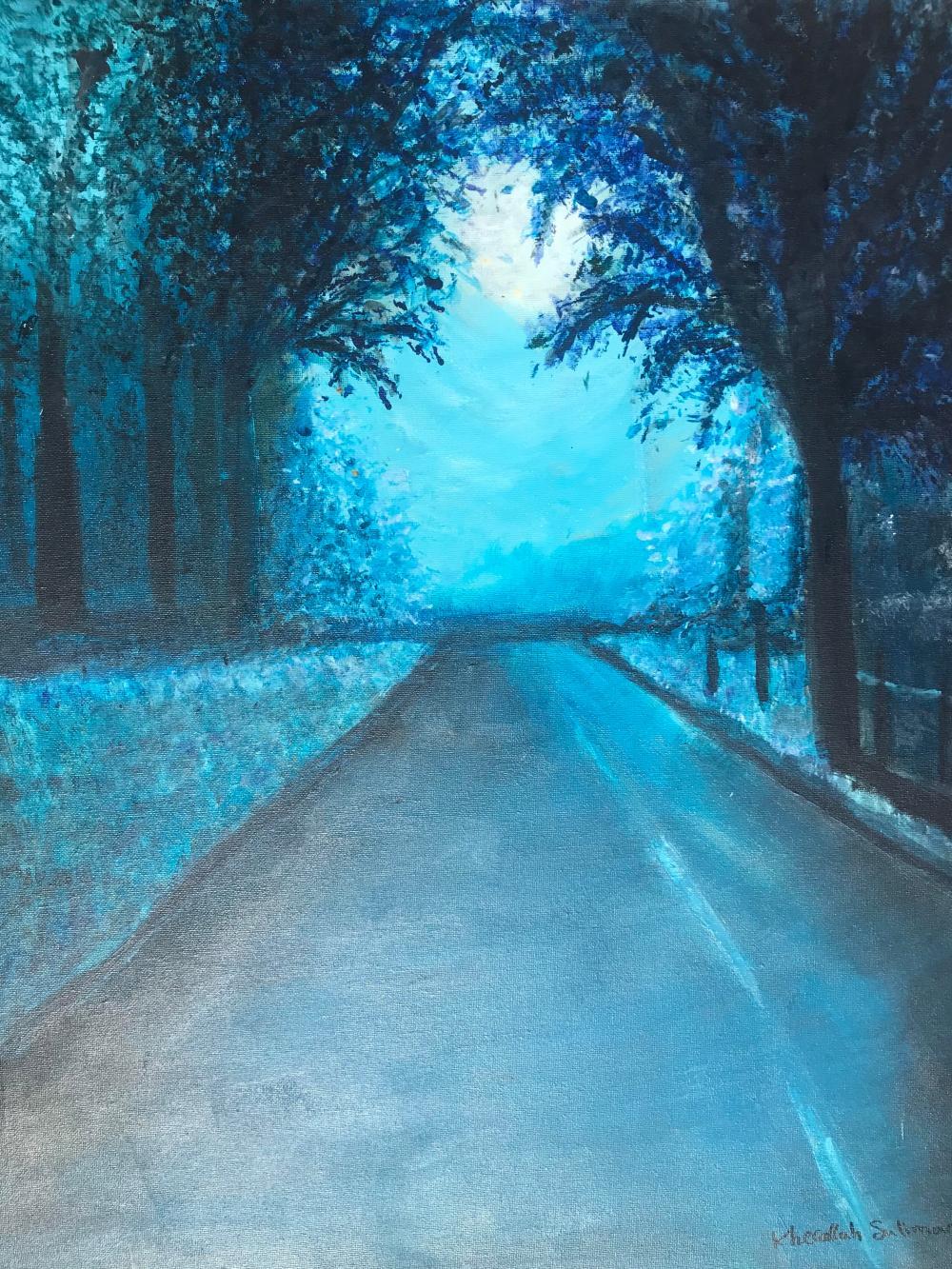 Kherallah Suliman - The Long Dark Road