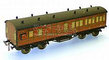 Leeds O-gauge LMS Brake/3rd Passenger Coach