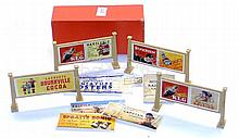 Hornby O-gauge box of Station Hoardings