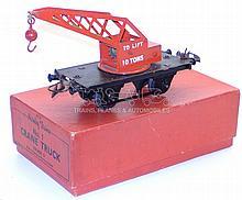 Hornby O-gauge Crane Truck