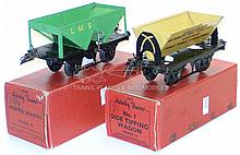 Two Hornby O-gauge No. 1 Goods Wagons