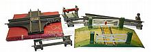 Four Hornby O-gauge items