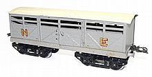 Hornby Series O-gauge NE bogie Cattle Van