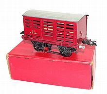 Hornby O-gauge Milk Traffic Wagon