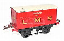 Hornby Series O-gauge pre-war LMS Gunpowder Van