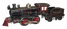 Bing O-gauge clockwork Locomotive & Tender