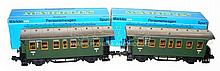Two Marklin 1-gauge 5801 Passenger Coaches