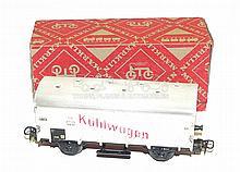 Early Marklin HO 310 4-wheel bogie Refrigerator Car