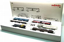 Marklin HO 4863 Freight Car Boxed Set