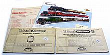 Four OO-gauge Pamphlets