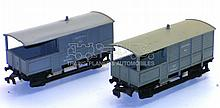 Two Hornby Dublo Brake Vans