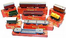 Nine Tri-ang Rolling Stock items