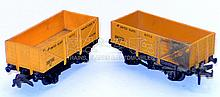 Two Hornby Dublo plastic Wagons