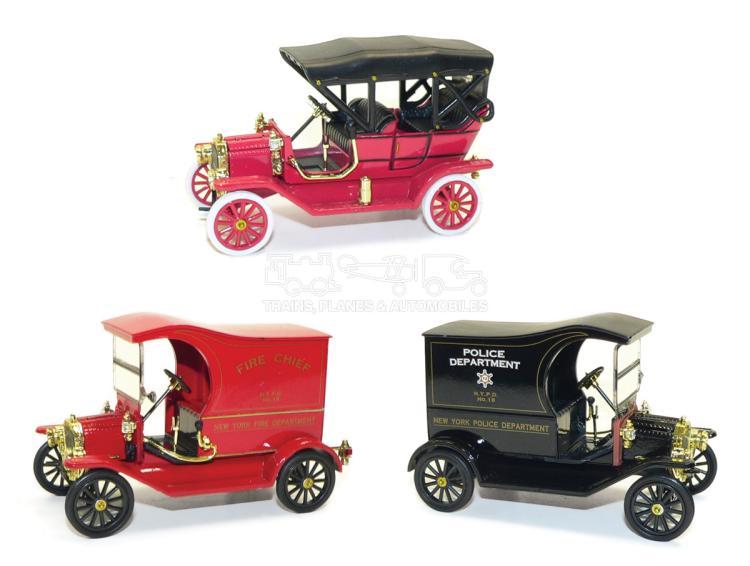 Three National Motor Museum Mint Diecast Cars