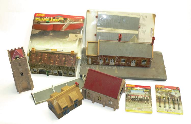 Accessories O Gauge Buildings : Collection of ho oo scale buildings and accessories