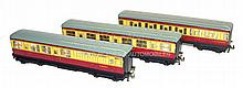 Three Hornby Dublo tinplate BR