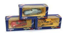 Three Corgi Cars