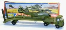 Dinky 618 AEC Transporter with Helicopter