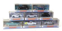 Eight Matchbox Dinky Cars