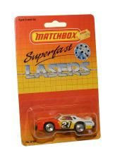Matchbox Superfast Lasers No. 12 Chevy Stock Car