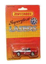 Matchbox Superfast Lasers No. 13 Corvette