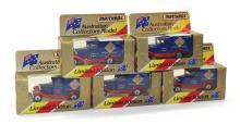Five modern Matchbox Superfast MB38