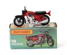 Matchbox 18 Hondarora Motor Cycle