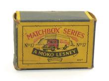Matchbox 1-75 No. 17 Van EMPTY BOX only