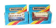 Two modern Matchbox Vehicles