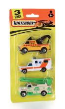 Matchbox 3 Pack of Service Vehicles