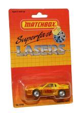 Matchbox Superfast Lasers No. 19 Pontiac Fiero