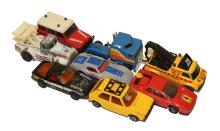 Eight Matchbox Vehicles