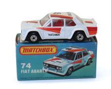 Matchbox Superfast 74e Fiat Abarth