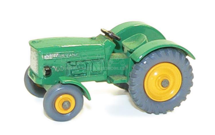 John Deere Matchbox Tractor : Matchbox no john deere tractor