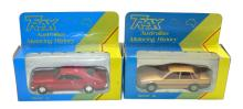 Two Trax 1:43 scale Cars