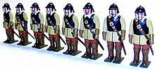 Set of eight Soldier Figures
