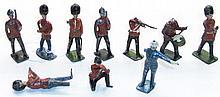 Ten Military Figures