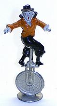 Charbens diecast Clown on Unicycle