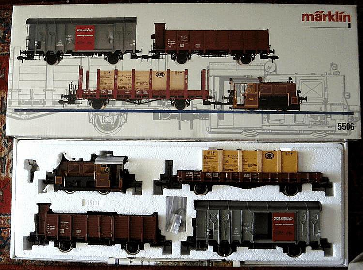 Marklin 1-gauge 5506 Boxed Set