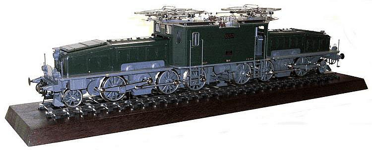 Marklin 1-gauge 5871 Green Crocodile