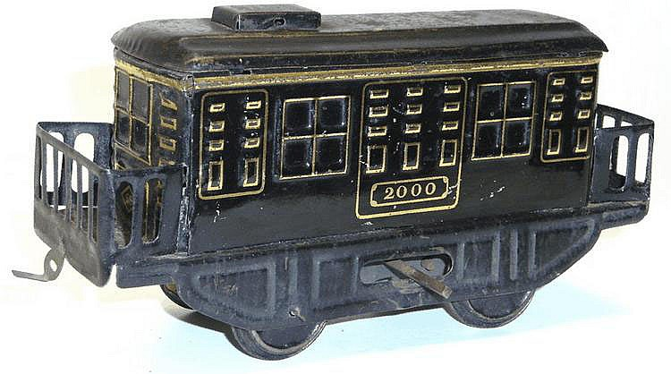 SS Tinplate Clockwork Locomotive