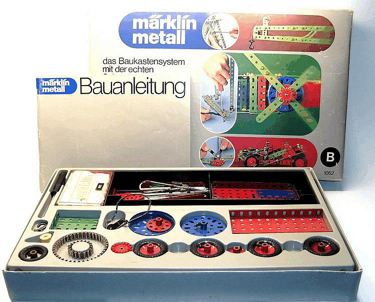 Marklin 1052 Metal Construction Set 'B'