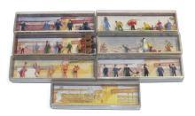 Six Merten HO/OO scale Figure & Accessory Sets