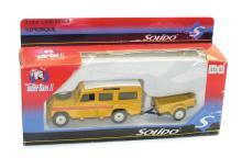 Solido 3134 1:43 scale Land Rover with Trailer