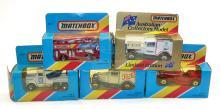 Five Matchbox Vehicles