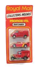 Matchbox Royal Mail Set of three Vehicles