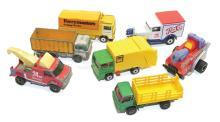 Seven Matchbox Vehicles