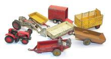 Seven Dinky Farm Items